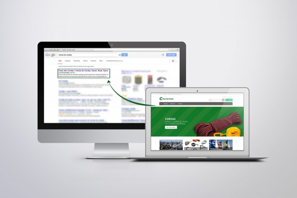 E-commerce na primeira página do Google