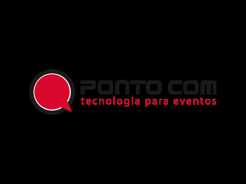 Logotipo Pontocom - Tecnologia para Eventos
