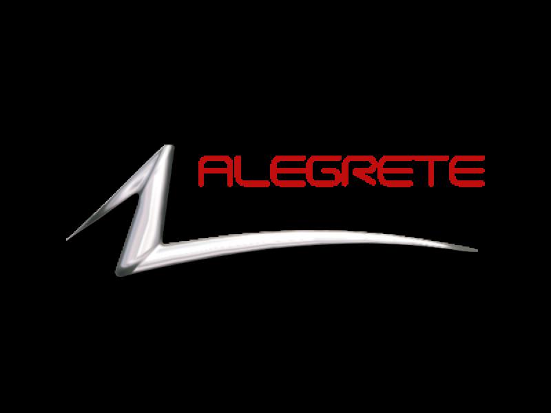 Logotipo Alegrete Artefatos de Alumínio