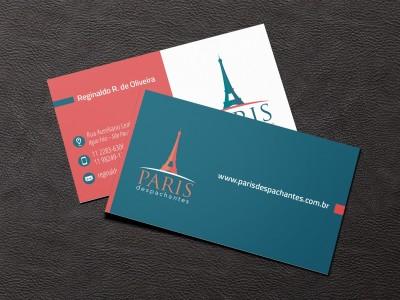 Cartões de Visitas Paris Despachantes