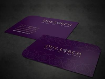 Cartão de Visitas Due Lorch