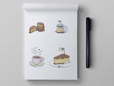Ilustração de Produtos