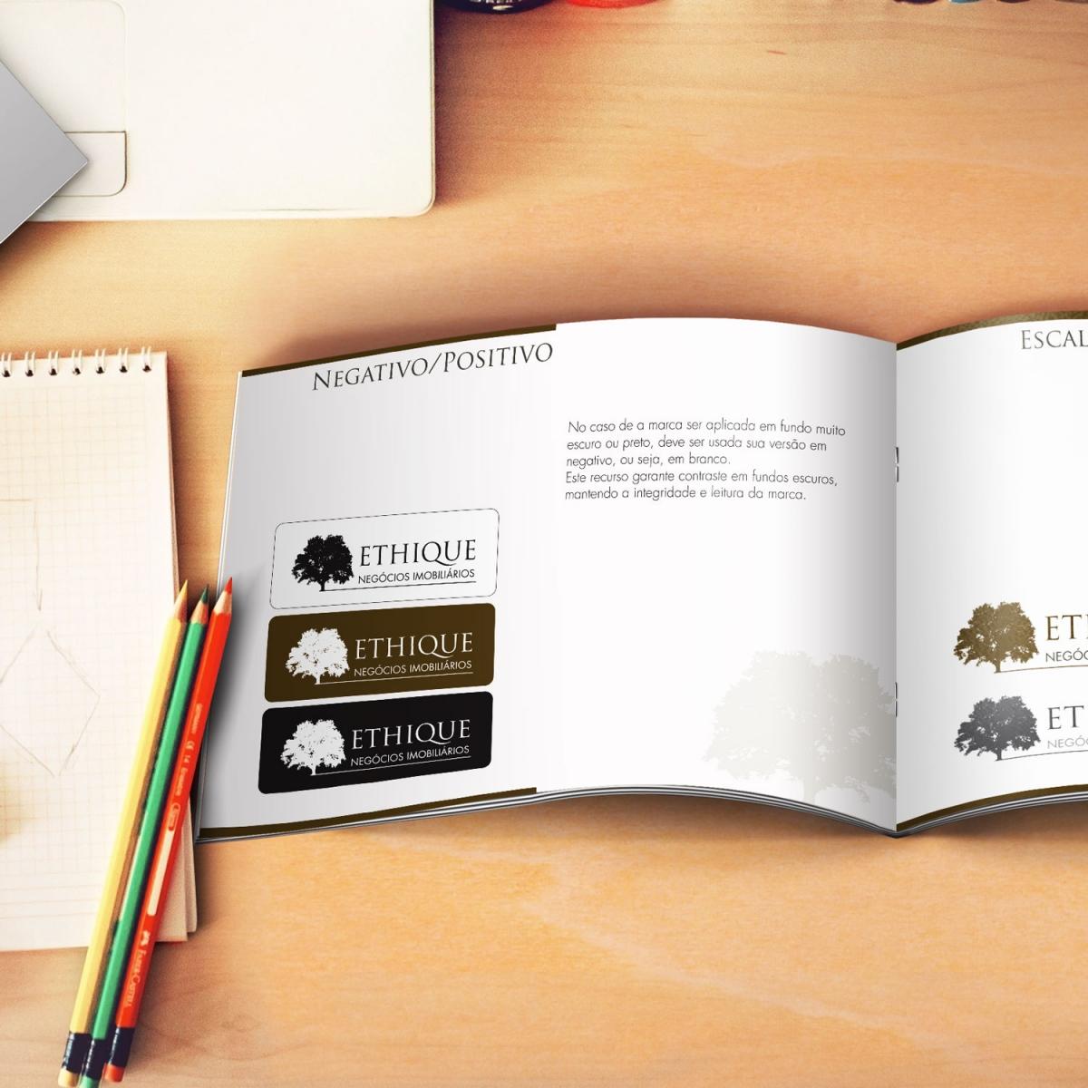 Criação de Manual de Identidade Visual