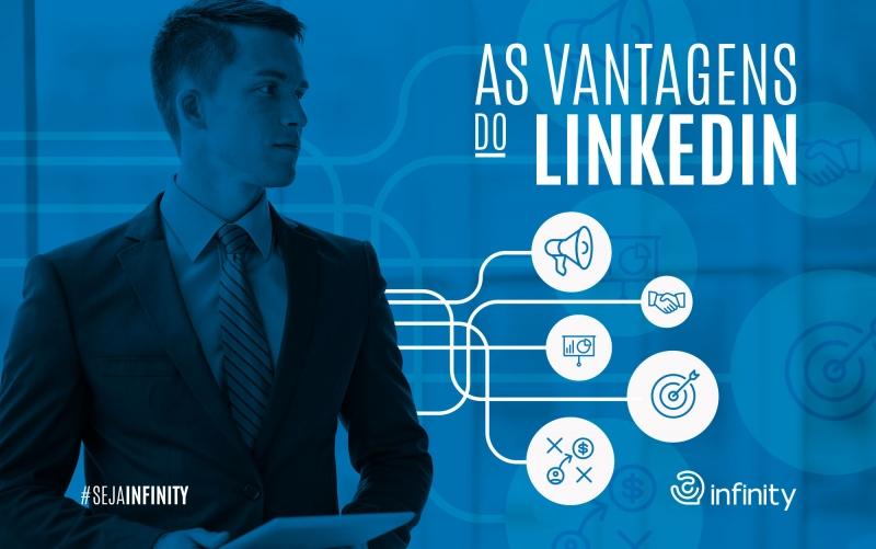 Imagem referente a As vantagens de Publicidade no Linkedin
