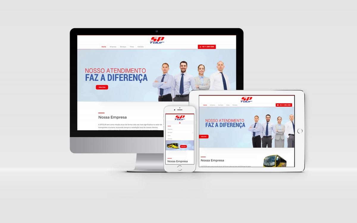 Site Responsivo e Dinâmico com área Administrativa.